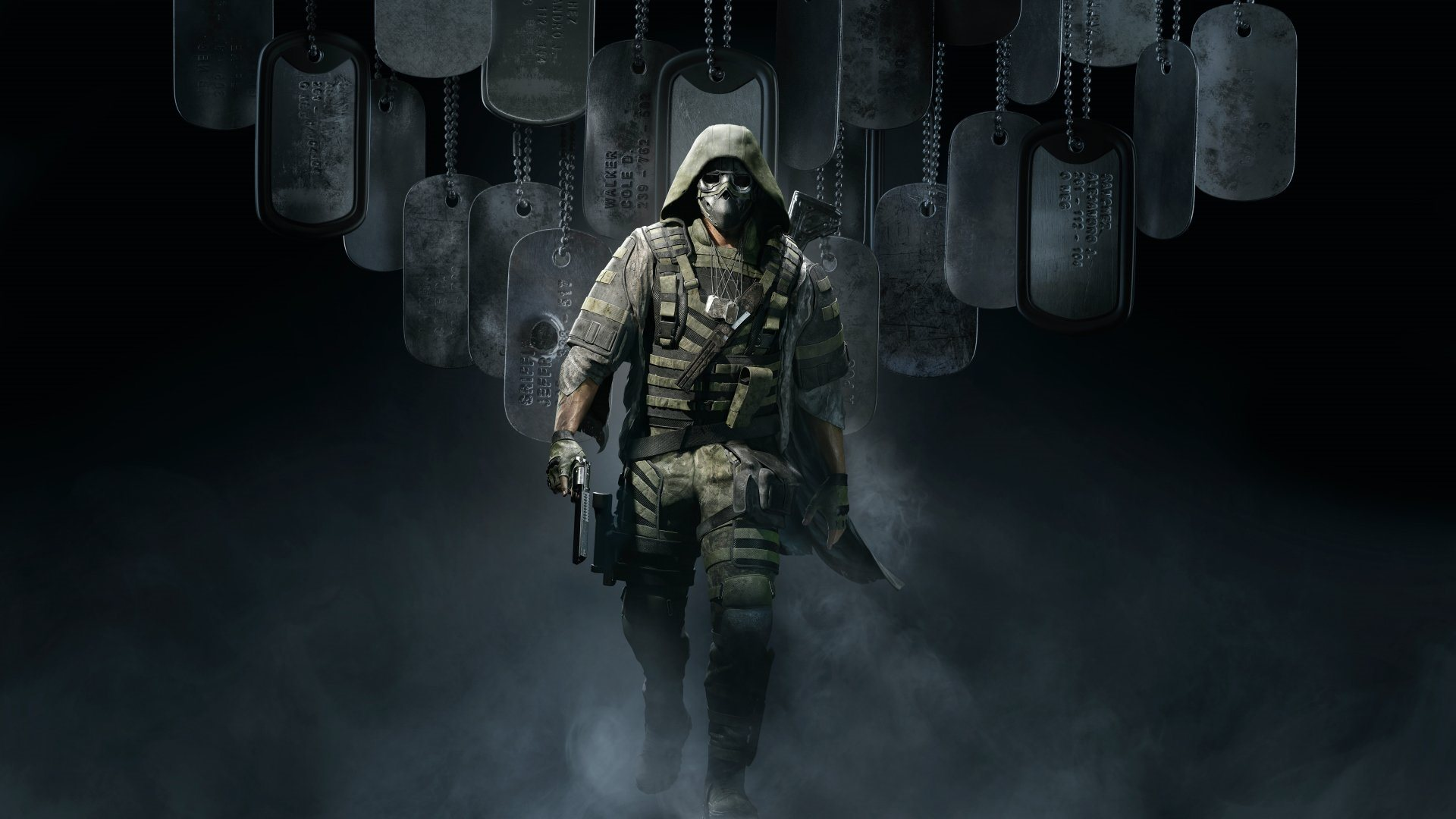 Ghost Recon Breakpoint; wallpaper: walker