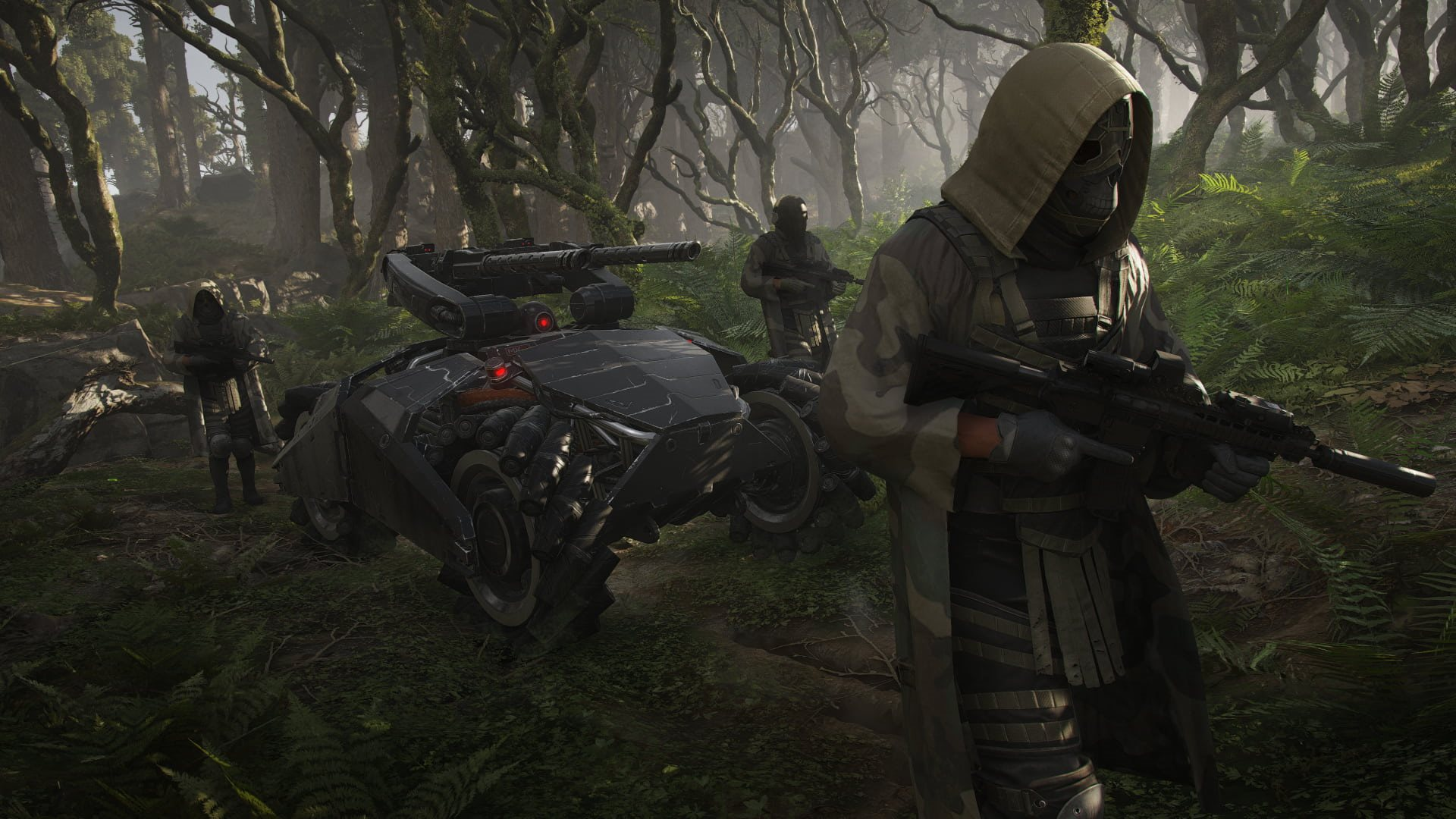 Ghost Recon Breakpoint; trailer: wolves