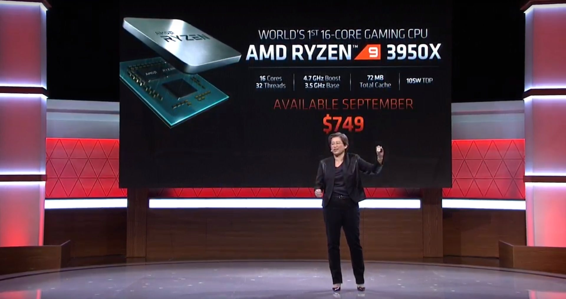 AMD; screenshot: AMD Ryzen 3950x
