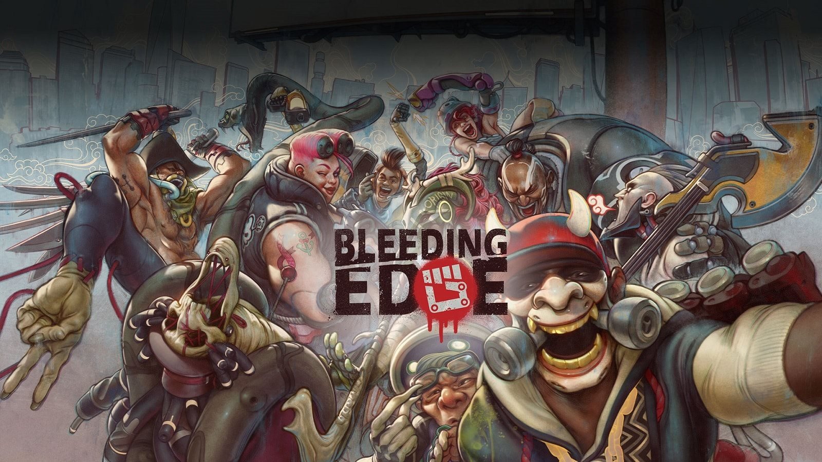 E3 2019; screenshot: bleeding edge