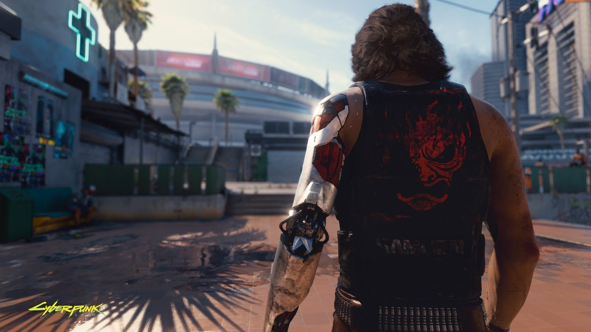 E3 2019; screenshot: johny silverhand