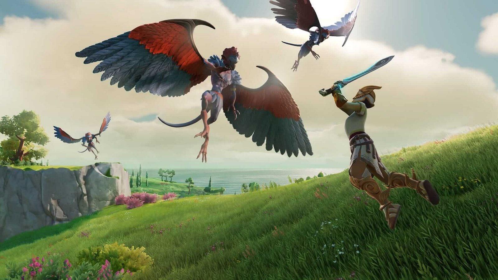 Gods and Monsters; screenshot: harpie