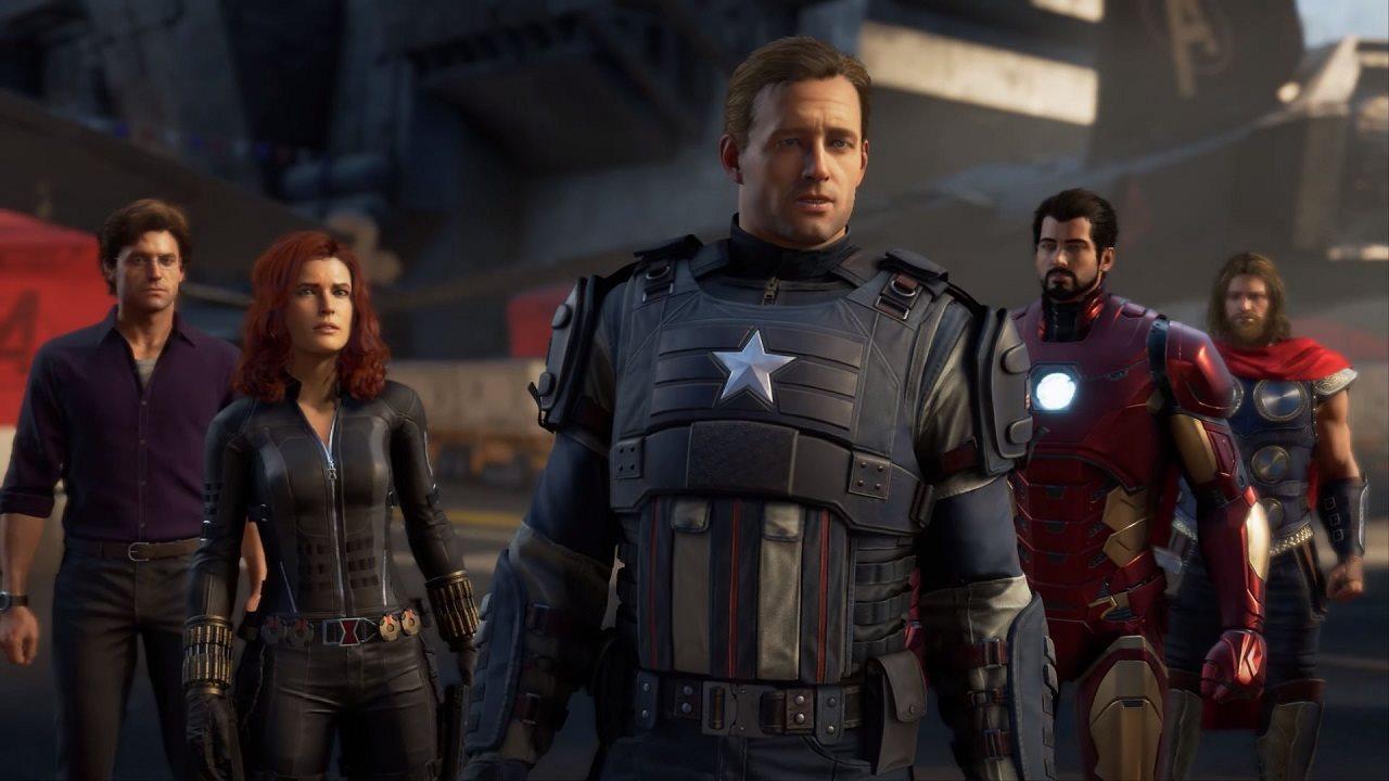 E3 2019; screenshot: marvel's avengers