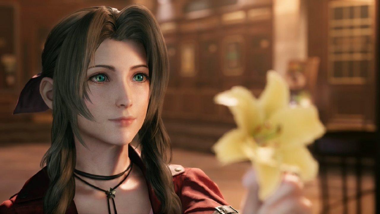 Final Fantasy VII Remake; gameplay: Aerith