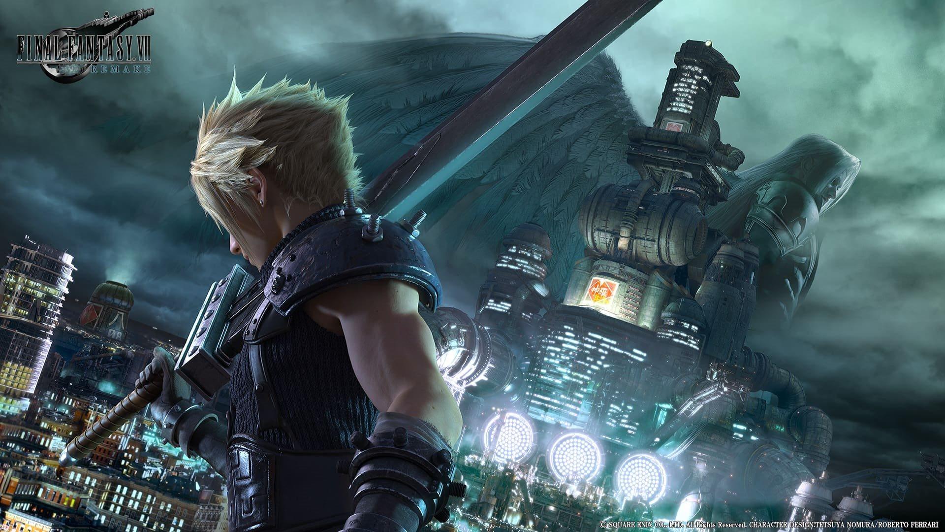 Final Fantasy VII; wallpaper: cover, Cloud
