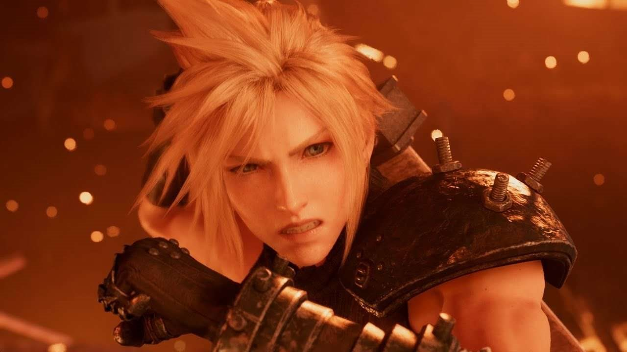 Final Fantasy VII Remake; screenshot: Cloud Strife