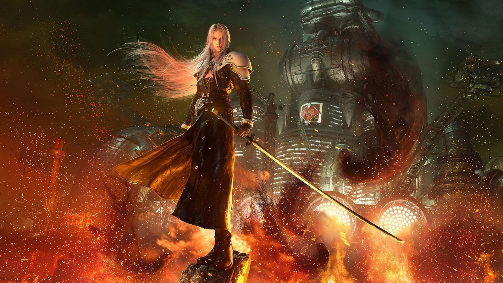 Final Fantasy VII Remake; Sephiroth