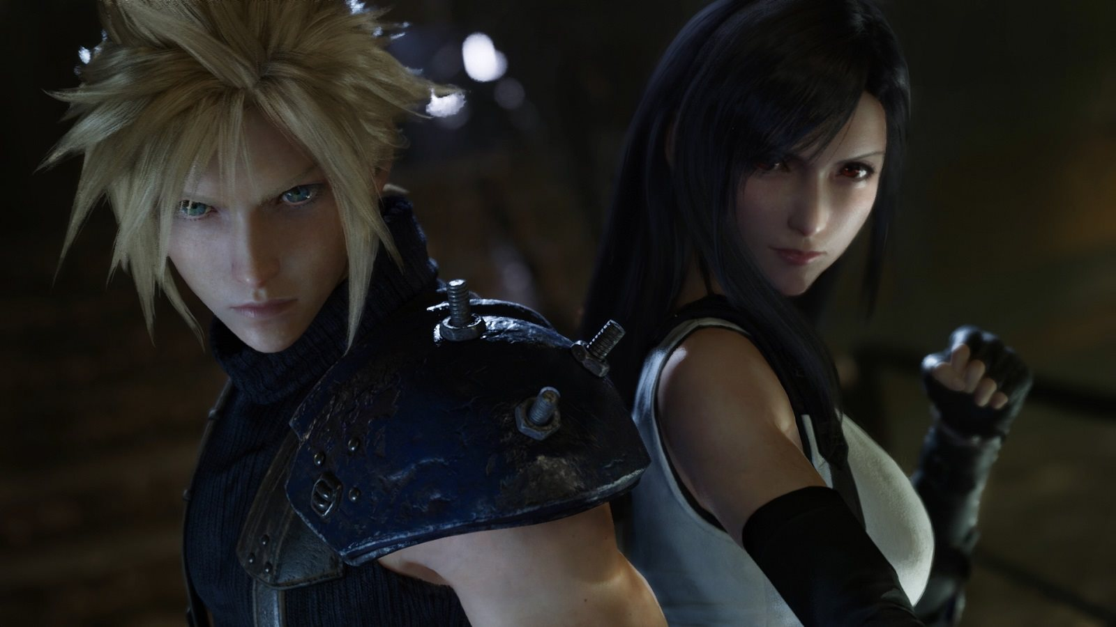 Final Fantasy VII Remake; Cloud a Tifa