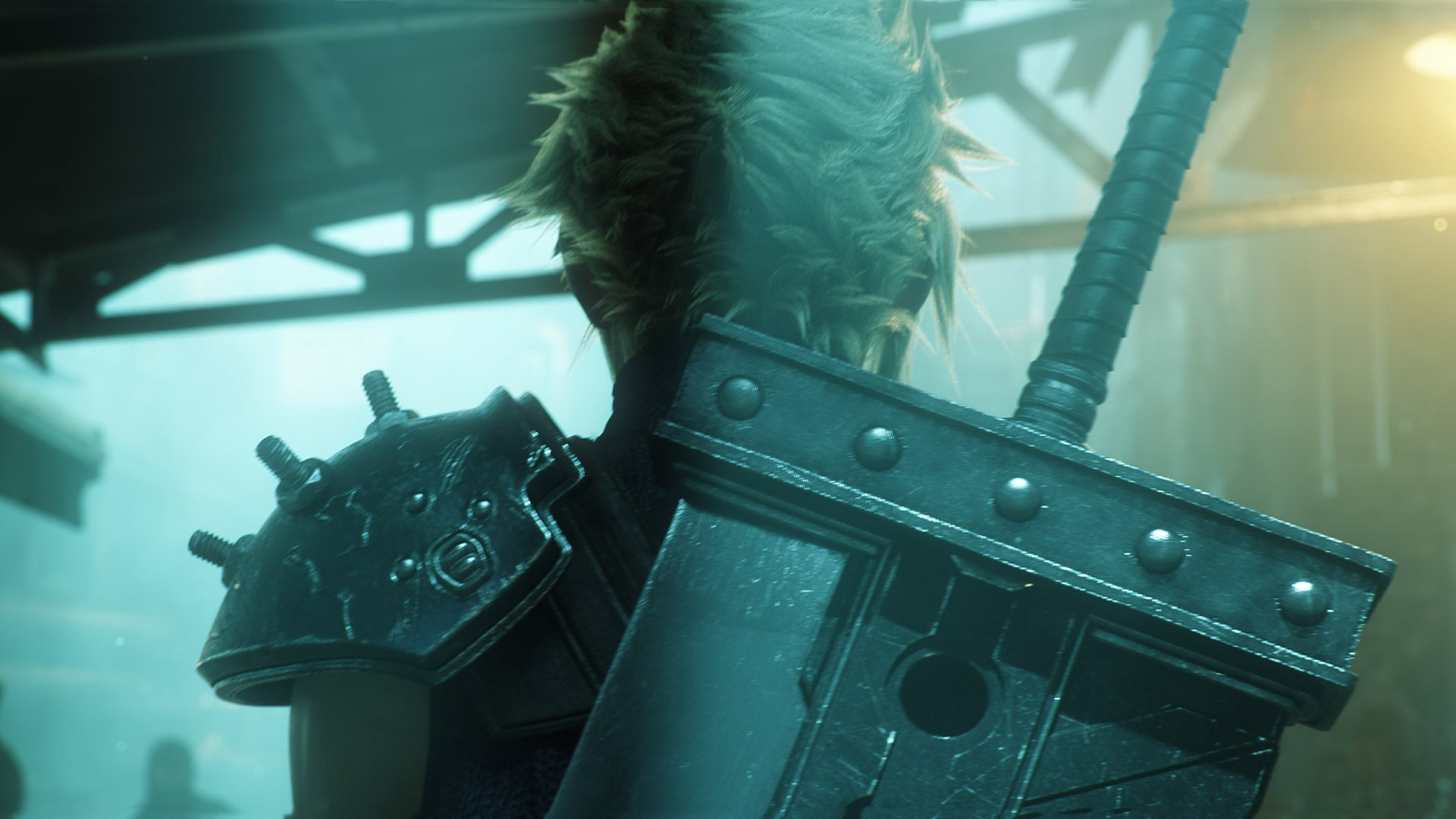 Final Fantasy VII; wallpaper: Cloud Strife