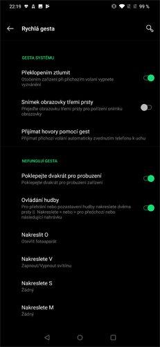 OnePlus 7 Pro Režim Fnatic