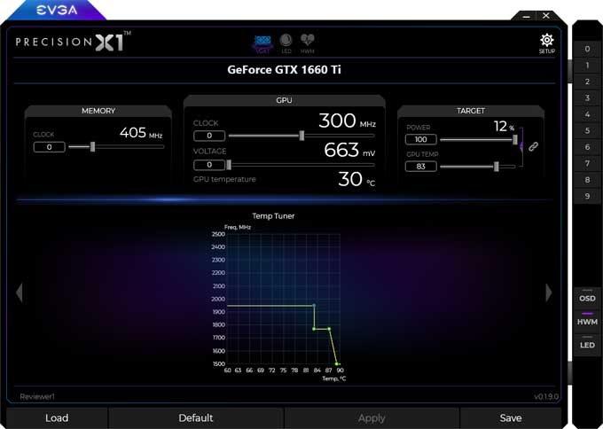 EVGA  GTX 1660 Ti XC Black Gaming Gaming Precision X1 4