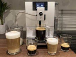 Recenze Automatický kávovar JURA ENA 8 Sunset Red