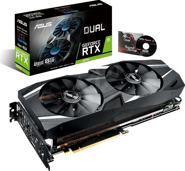 ASUS DUAL GeForce RTX 2070 A8G