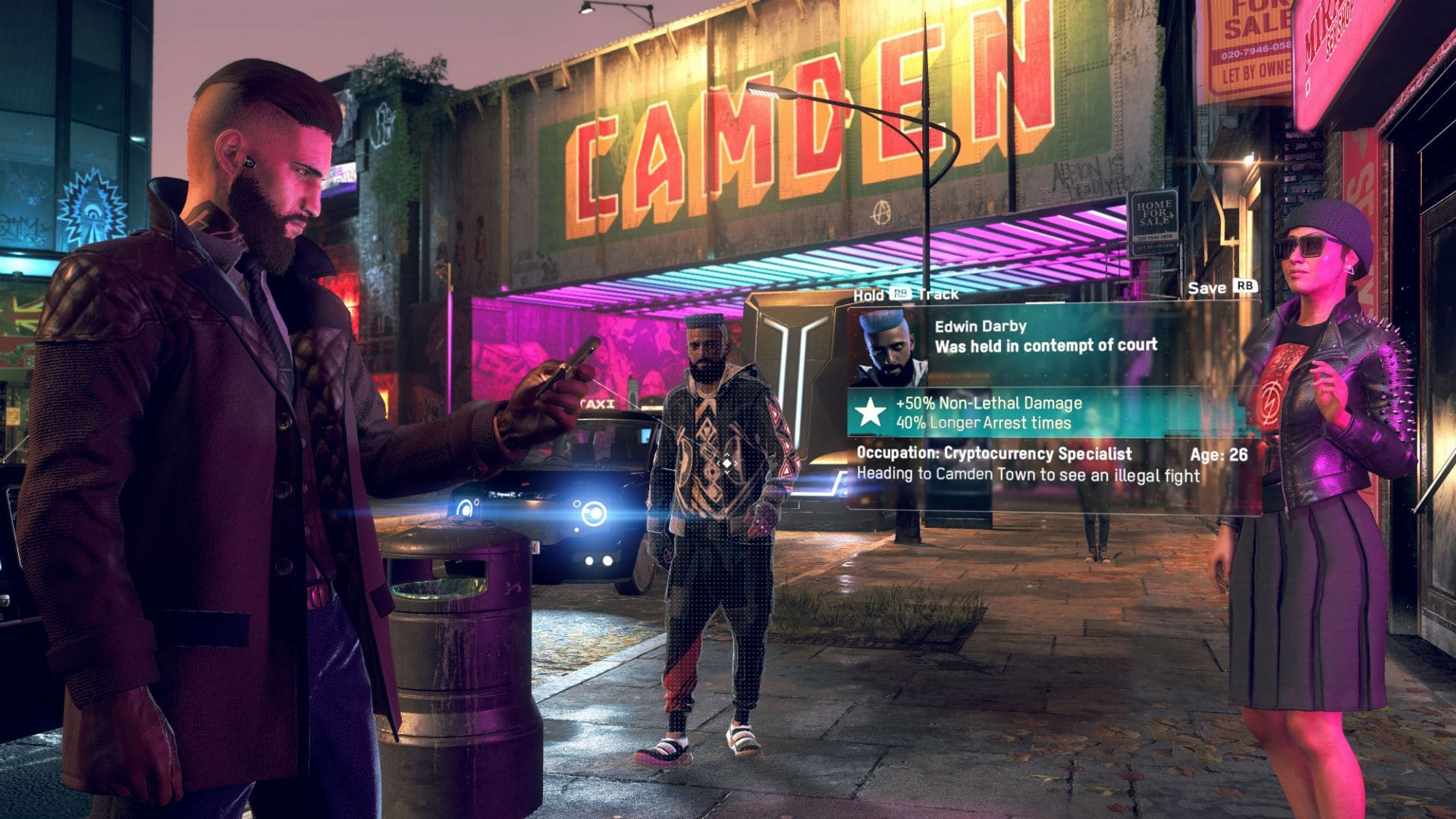 Watch Dogs Legion; screenshot: mobil