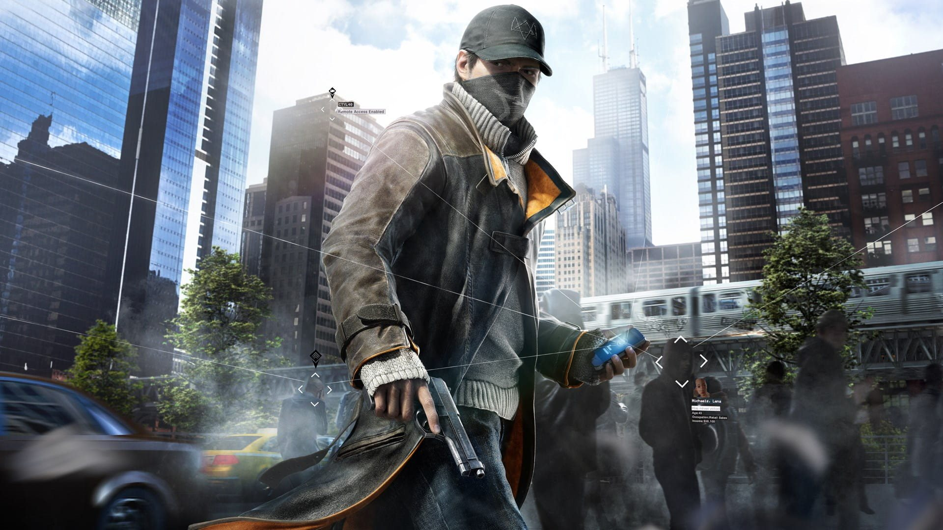 Watch Dogs Legion; wallpaper: aiden