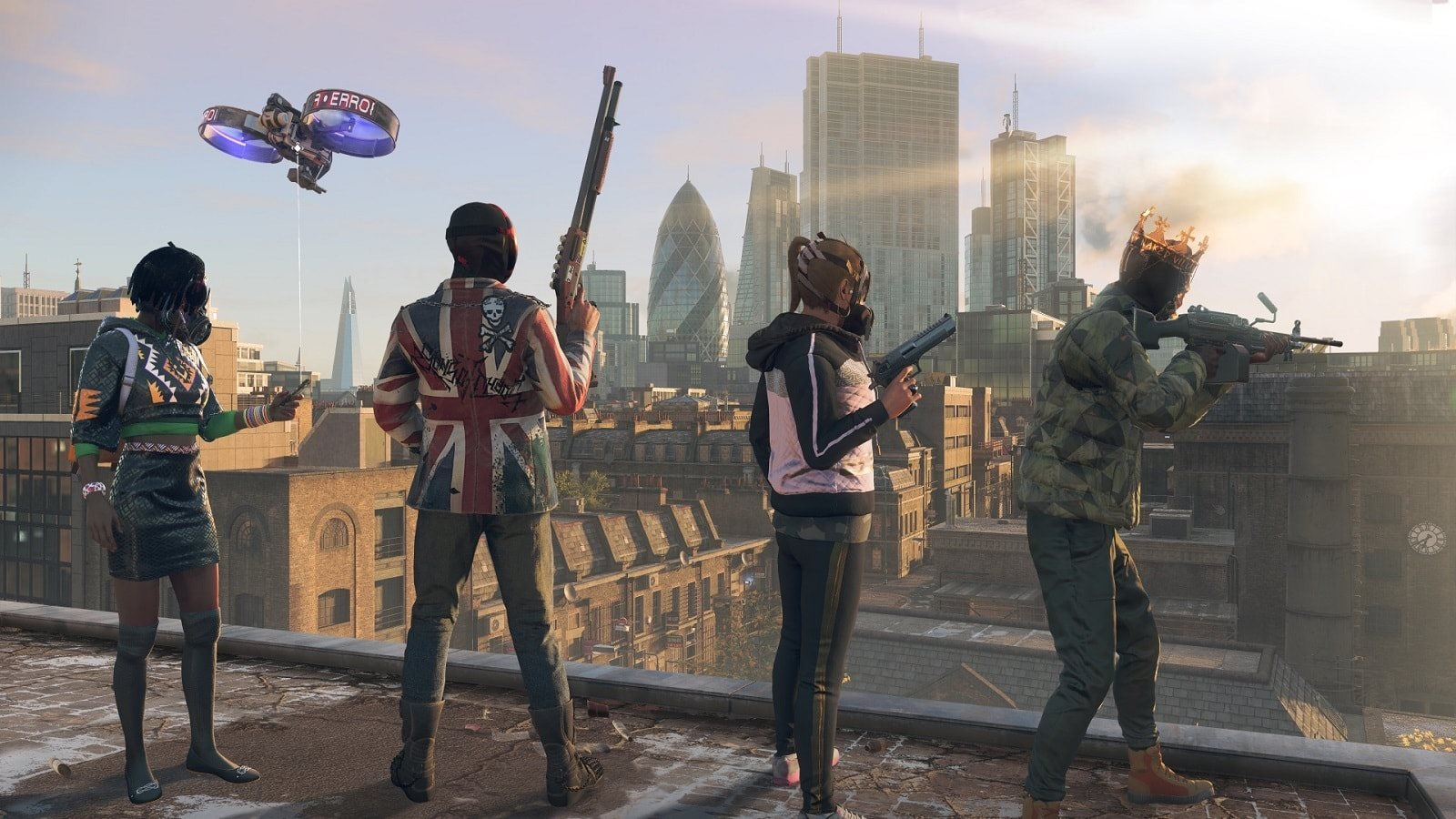 Watch Dogs Legion; screenshot: co-op