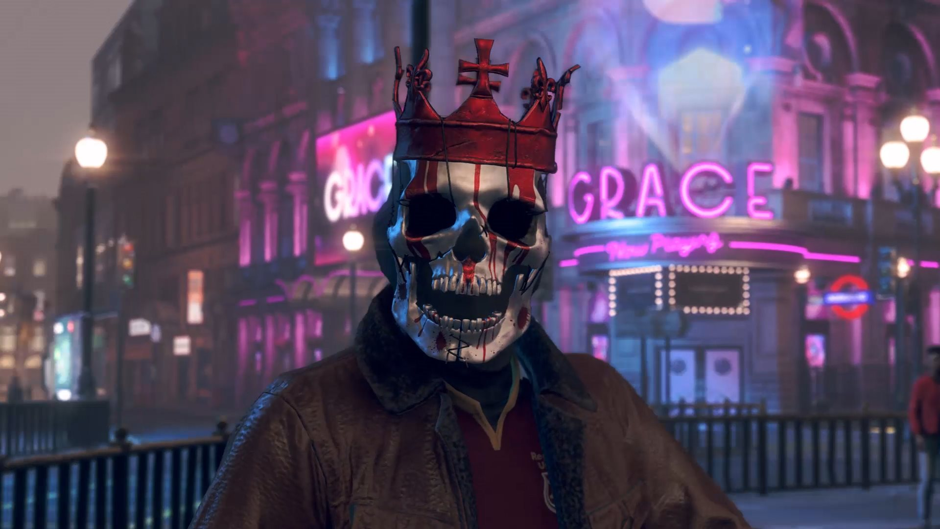 Watch Dogs Legion; screenshot: maska