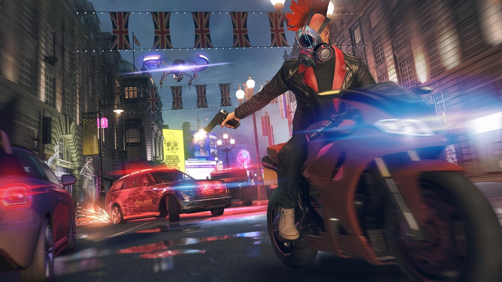 Watch Dogs Legion; screenshot: motorka