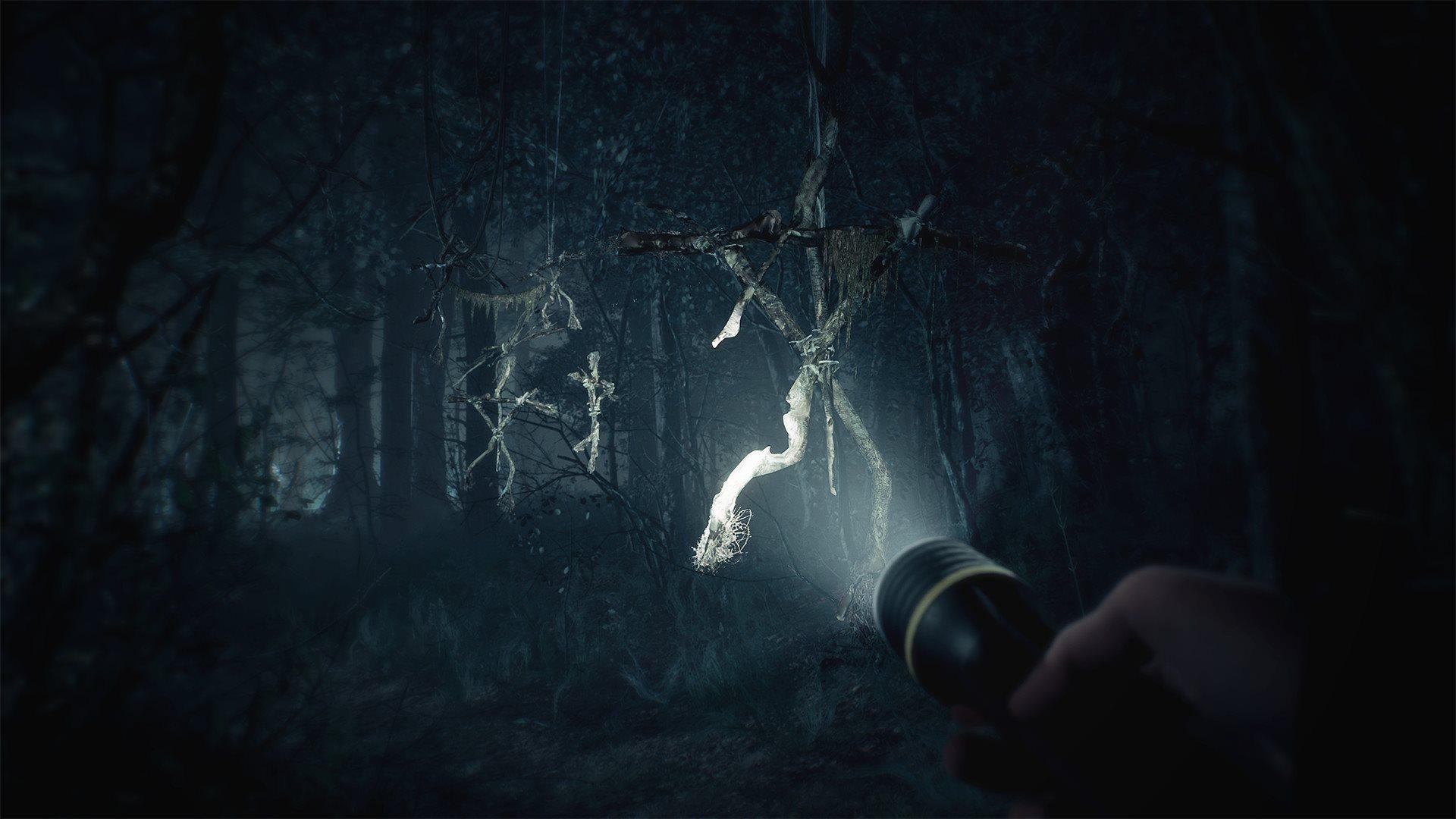 Blair Witch; gameplay: baterka