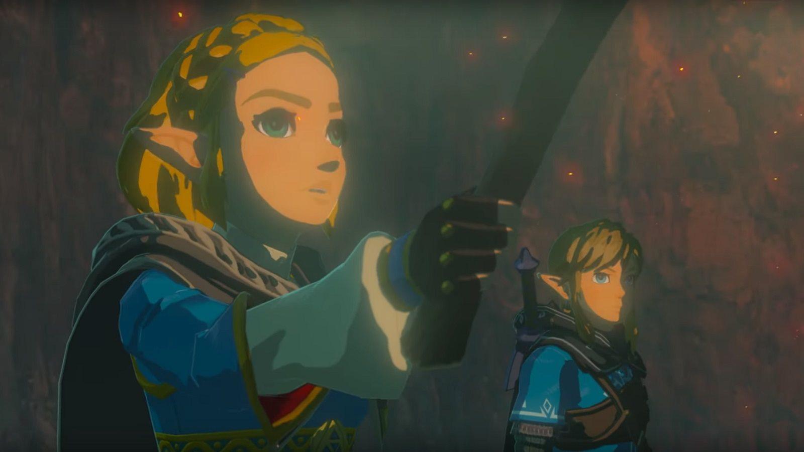 Legend of Zelda: Breath of the Wild 2; screenshot: link a zelda