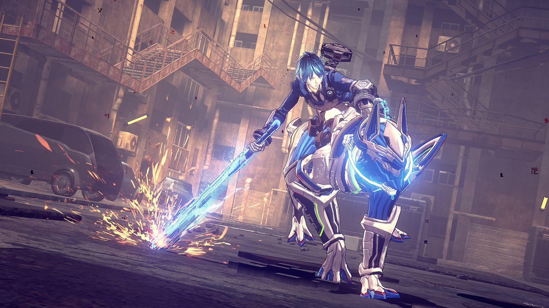 Astral Chain; screenshot: Legion