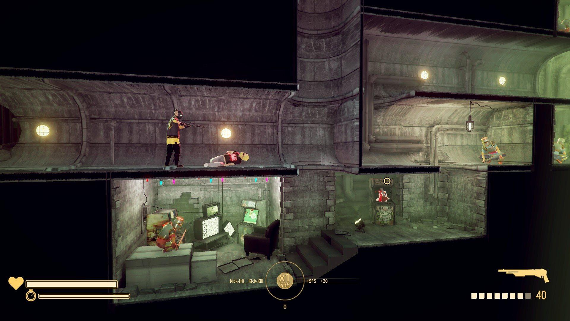 My Friend Pedro; gameplay: kobka