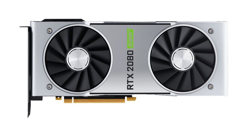 NVIDIA RTX 2080 SUPER Founders Edition v testech
