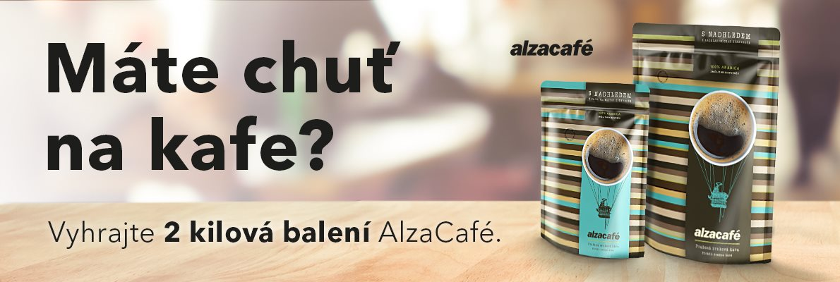 káva AlzaCafé