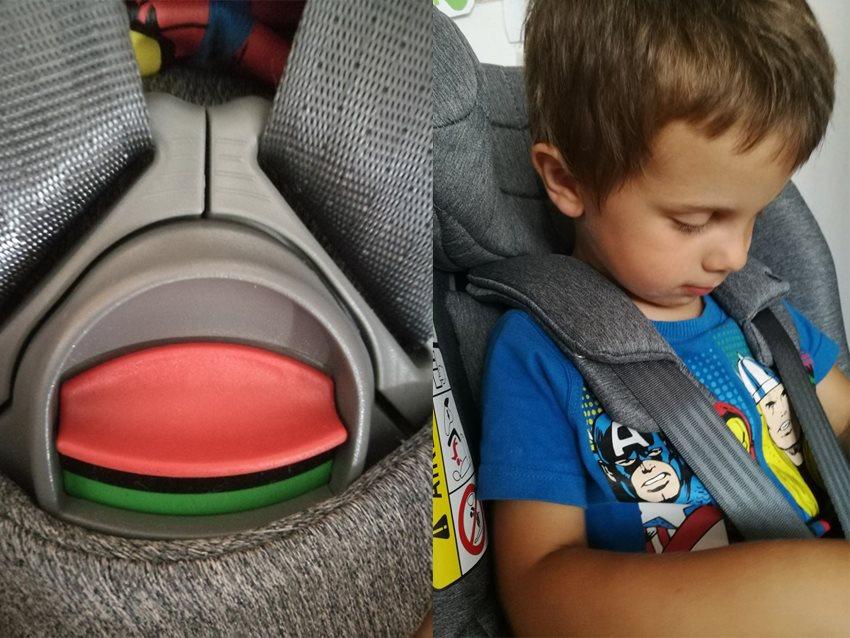 Aerofix sedačka je propracovaná v každém detailu.