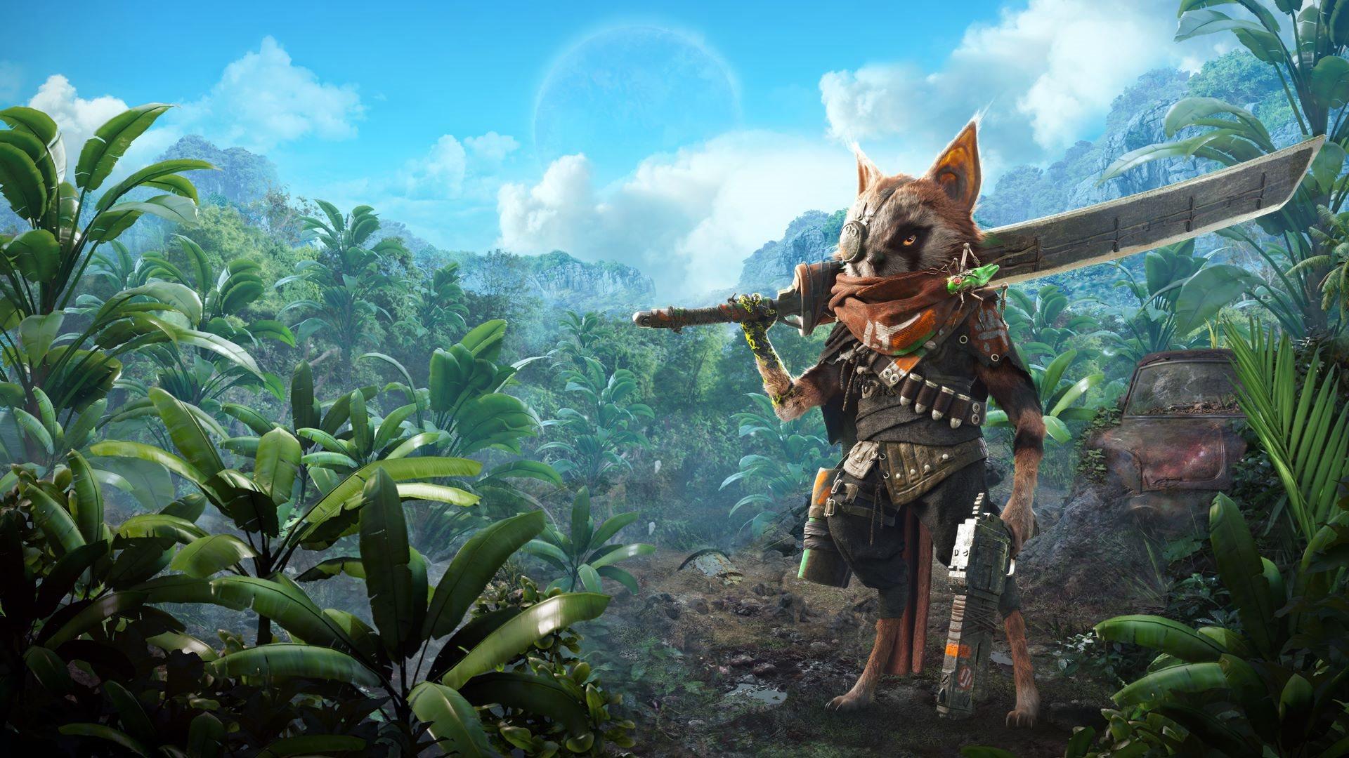Gamescom 2019; screenshot: biomutant