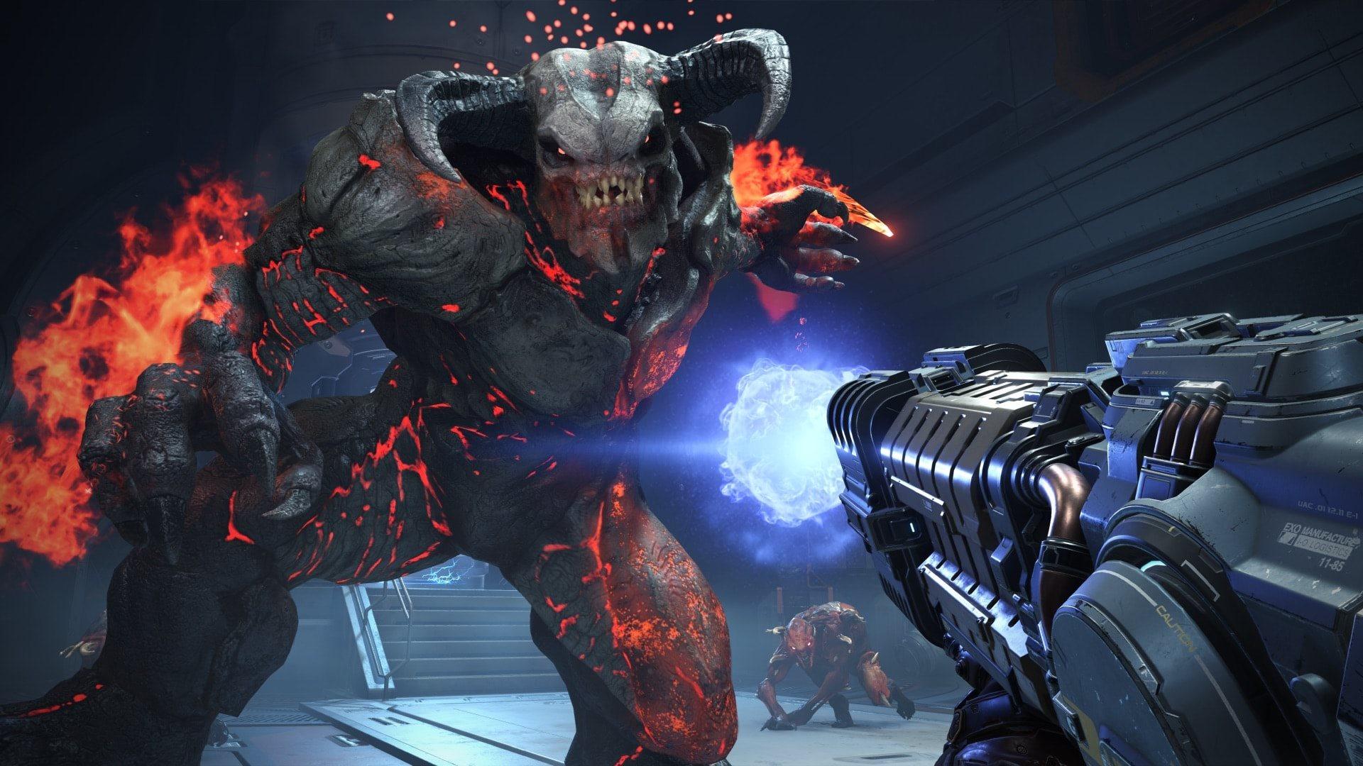 Gamescom 2019; screenshot: Doom