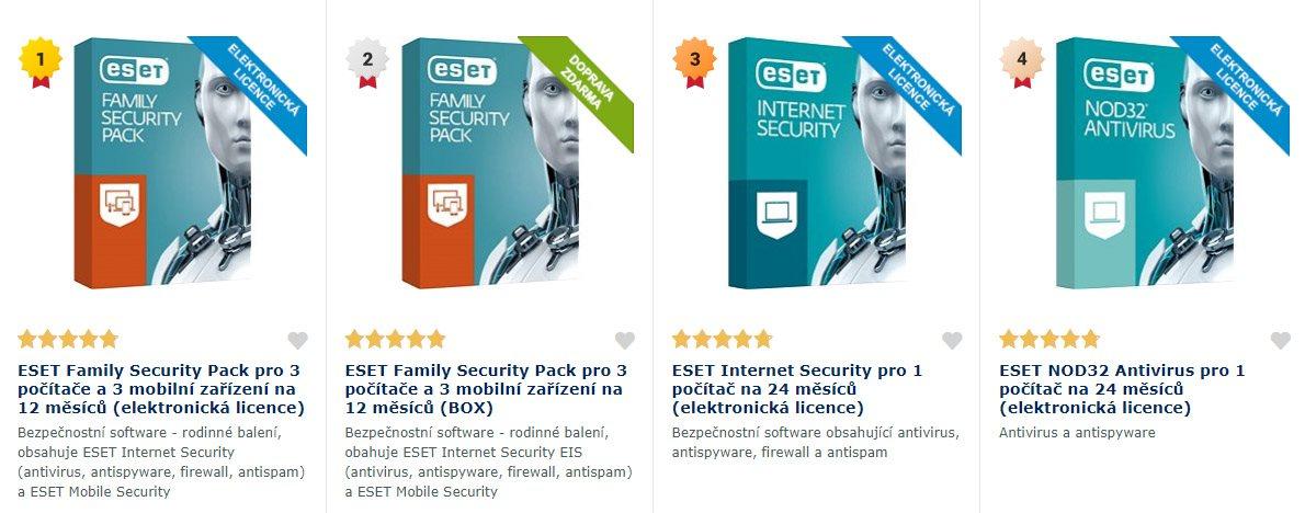 antivirové programy; počítač; telefon; malware; jak vybrat antivirus; ESET; antivirus; licence; AVG; Kaspersky