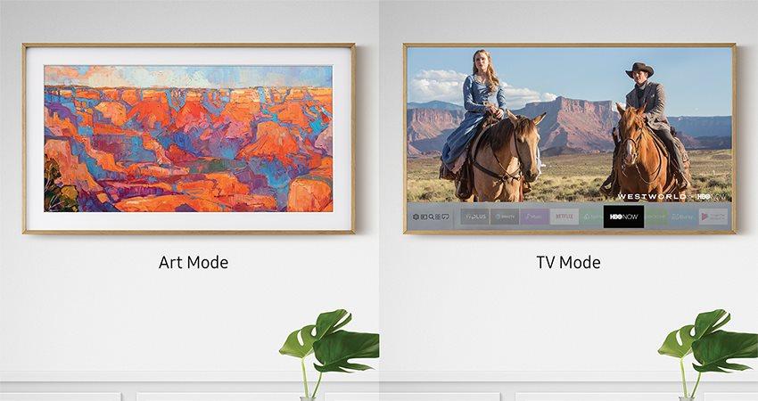 Samsung The Frame TV; SMART TV; funkce; 4K TV
