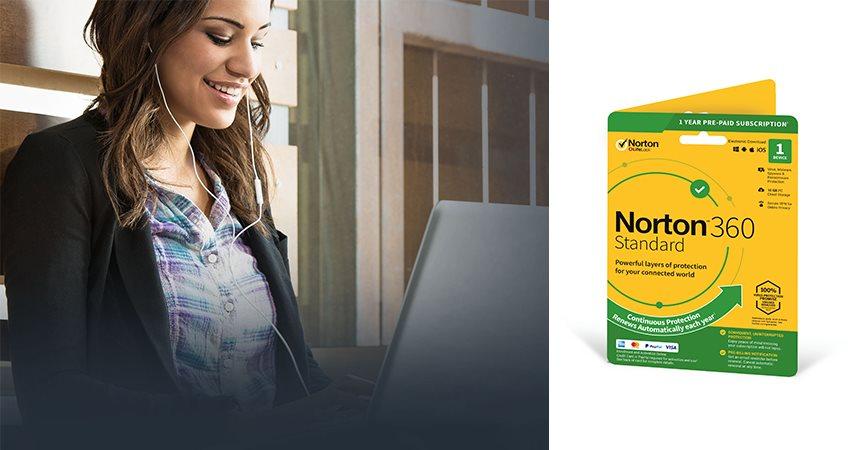 Norton 360 Standard; antivirus; Symantec; software
