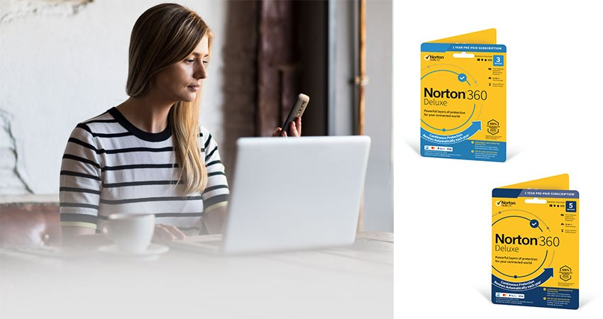 Norton 360 Deluxe; antivirus; Symantec; software