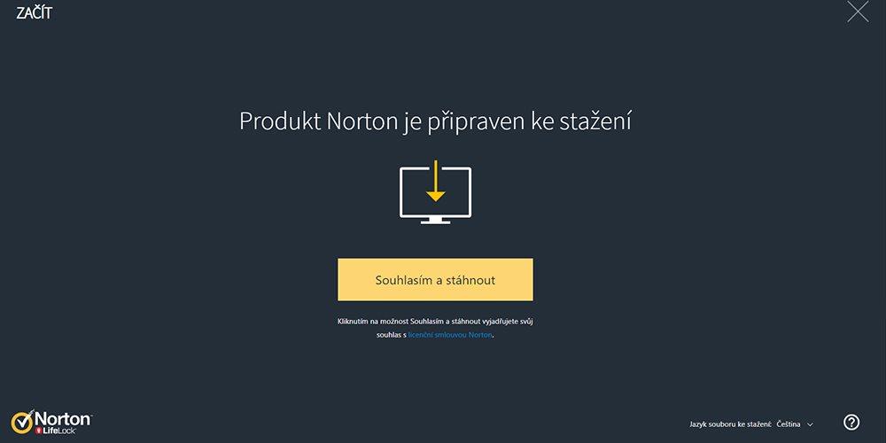 Norton 360; aktivace; návod