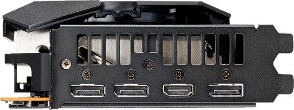 Asus Strix RX 5700 O8G Gaming; obrazové výstupy