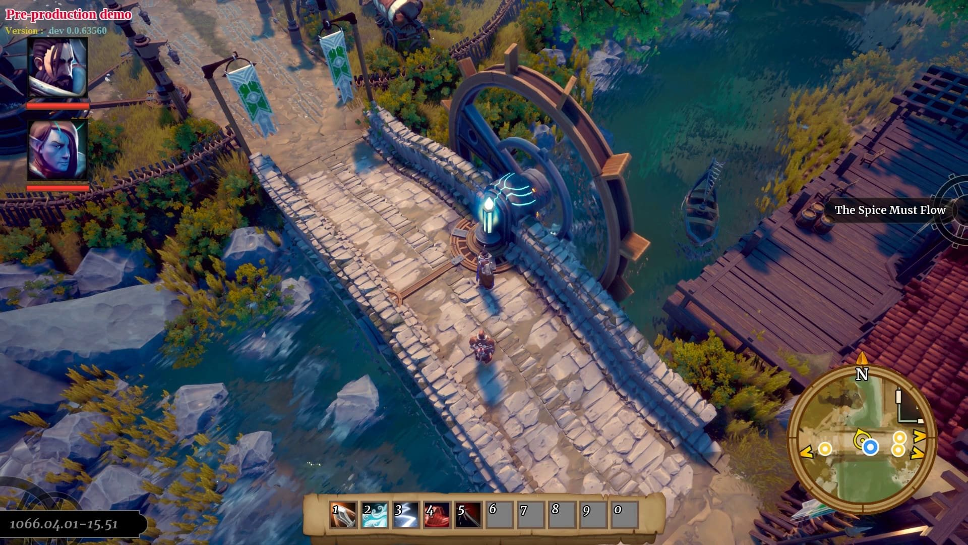 Project Witchstone; gameplay: most