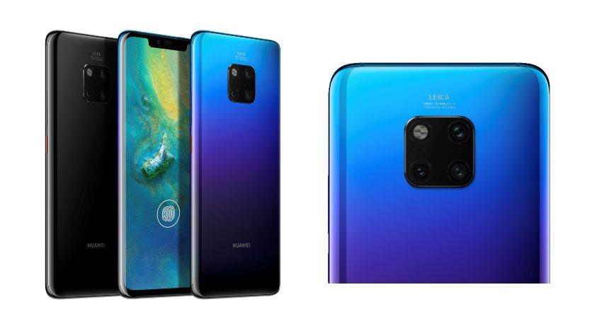 Huawei Mate 20 Pro Srovnání