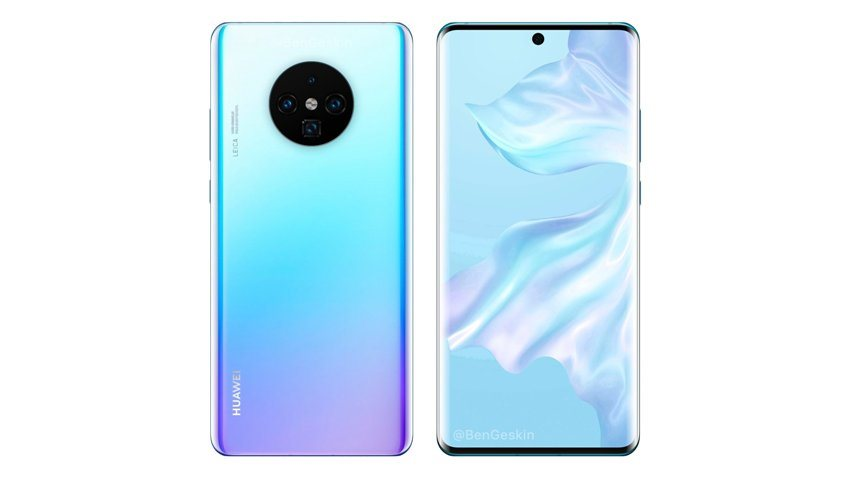 Huawei Mate 30 Pro Koncept
