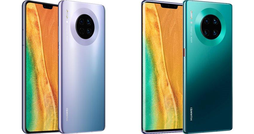 Huawei Mate 30 srovnání