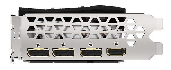 Gigabyte RX 5700 XT Gaming OC; obrazové výstupy