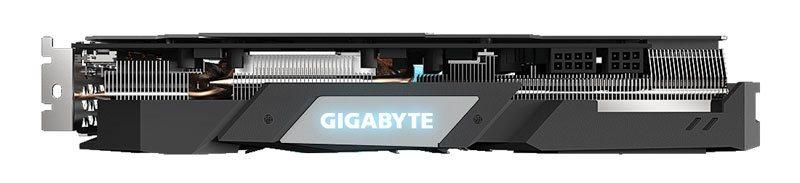 Gigabyte RX 5700 XT Gaming OC; vrchní strana