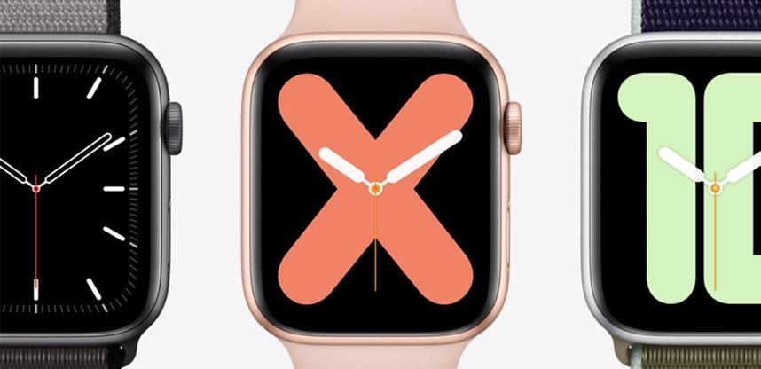 Apple; watch series 5; chytré hodinky; smartwatch; wearables; nositelna elektronika