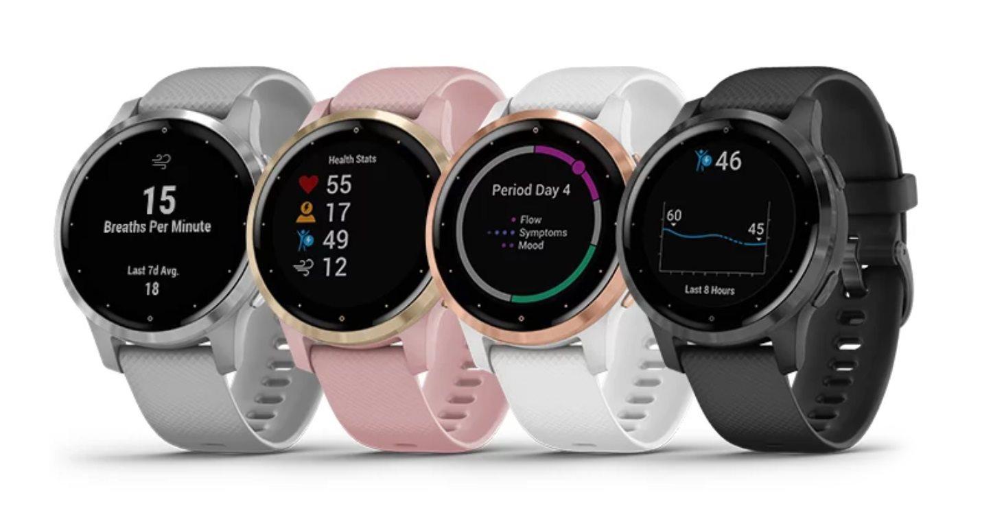 garmin; vivoactive;4;4s;chytre hodinky;smartwatch; wearables;