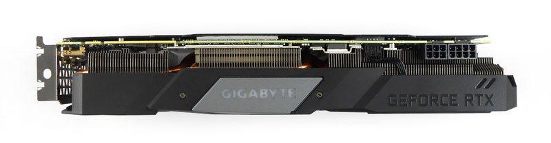 Gigabyte RTX 2070 SUPER Gaming OC; horní strana