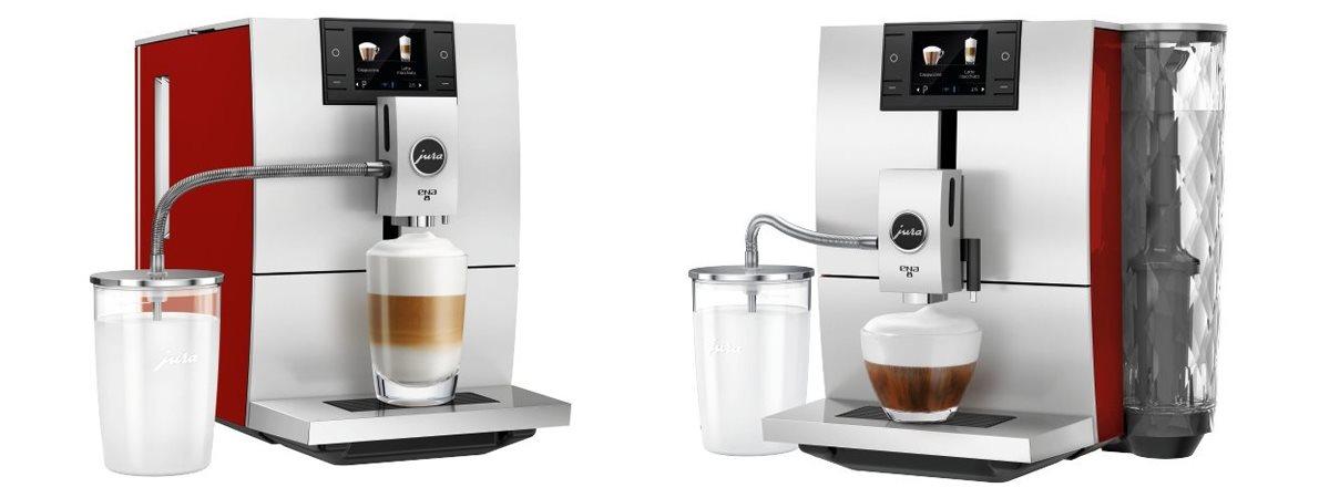 Recenze plnoautomatického kávovaru Jura Ena 8