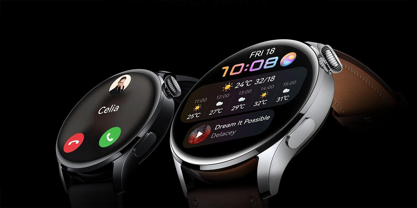 Huawei Watch 3 a 3 Pro – HarmonyOS, ovládací korunka a eSIM | Alza.cz