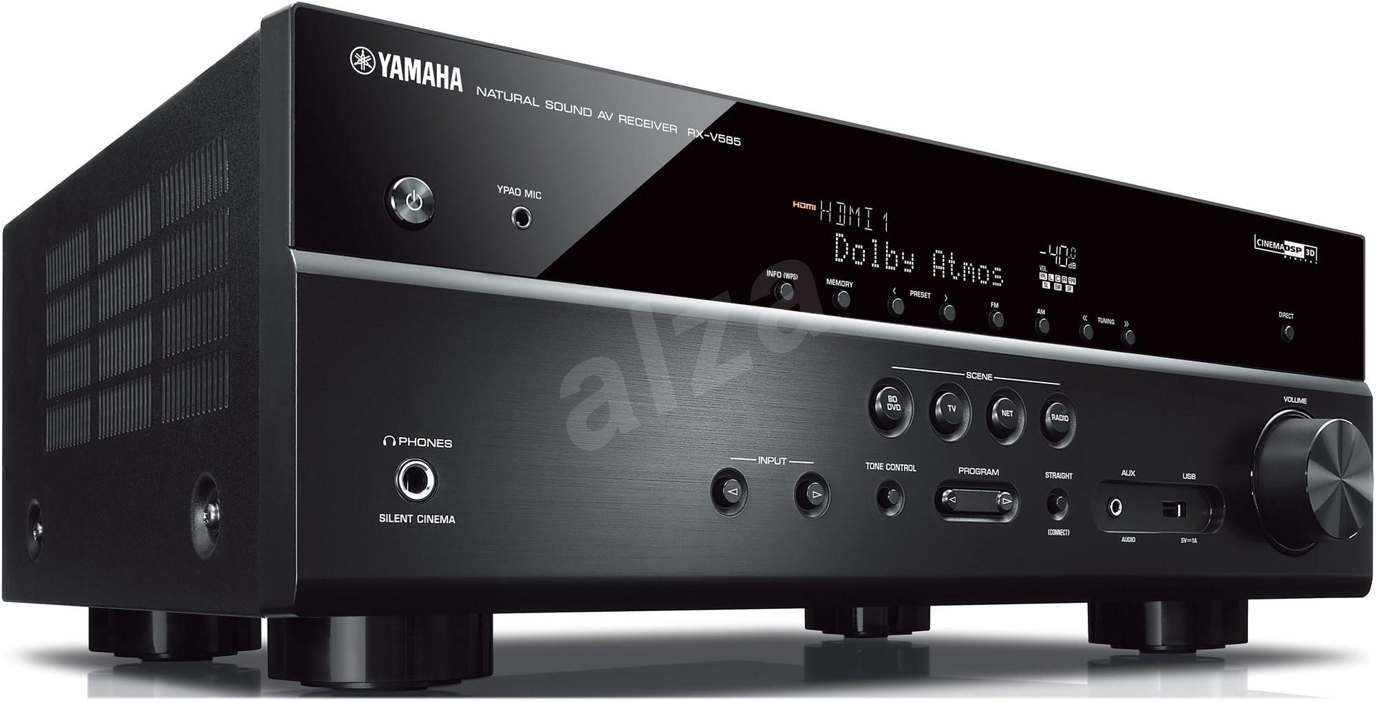 yamaha rx v585 ern av receiver. Black Bedroom Furniture Sets. Home Design Ideas