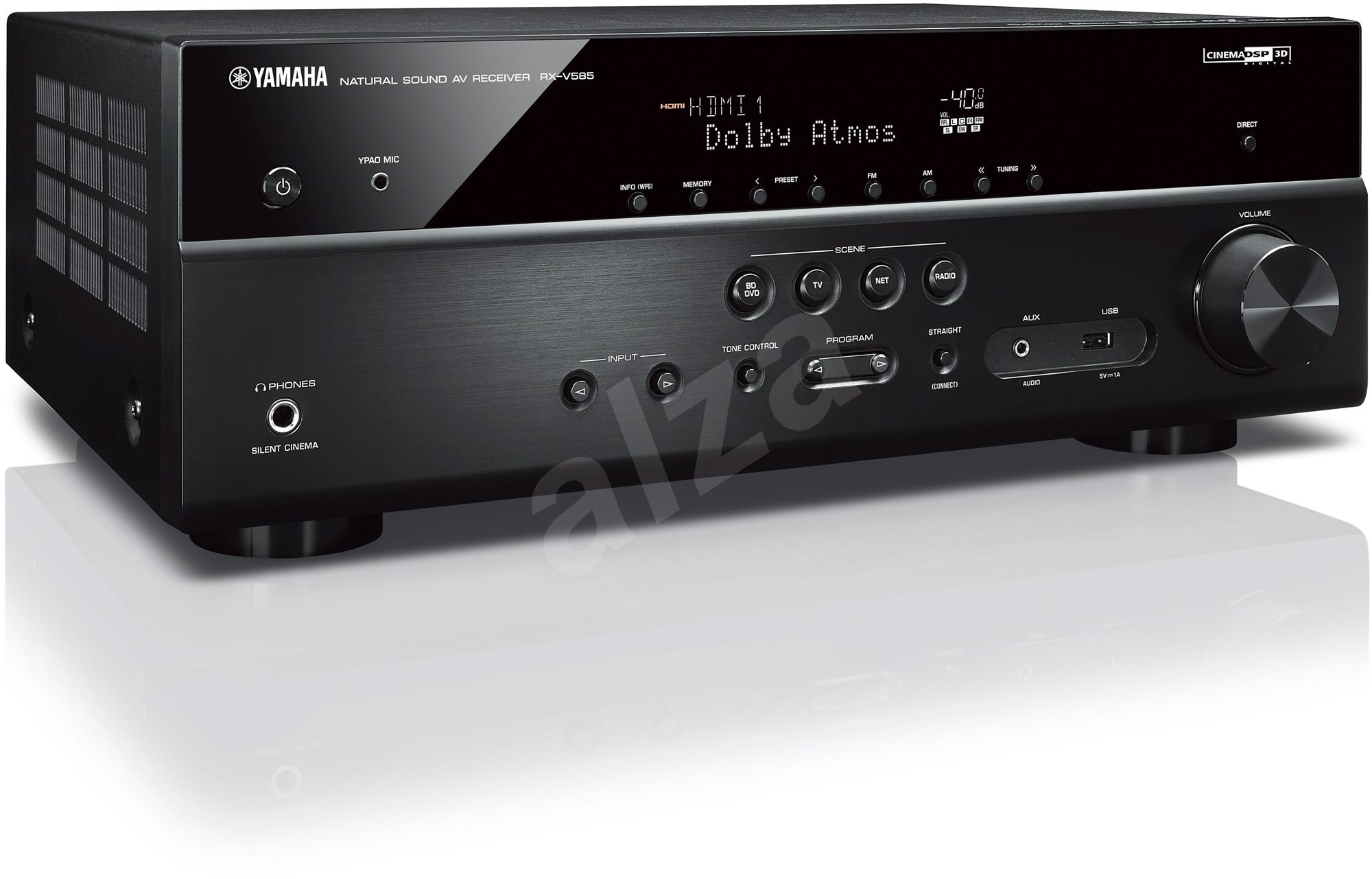 yamaha rx v585 ern av receiver. Black Bedroom Furniture Sets. Home Design Ideas